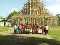 Pembangunan Gereja Kemah Injil Jemaat Eklesia Nabire  (51)