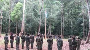 Diklat TPN di Markas Pusat TPN Papua Barat (IST)